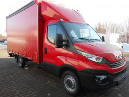 Iveco Daily 2014 on. Fixed Roof Spoiler, 740mm.