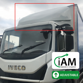 iAM Iveco Eurocargo Low Roof Sleeper - Top Spoiler