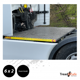 Iveco S-Way 6x2 Chassis TreadSafe Safety Platform / Catwalk, Highly visible full chassis catwalk