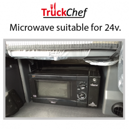 Microwave to suit Iveco Stralis Hi-Way