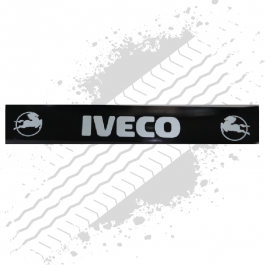 Iveco Black/White Trailer Mudflap