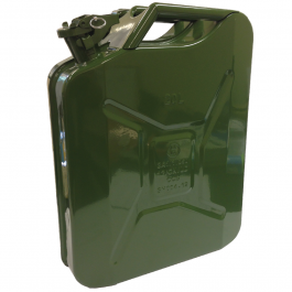 20 Litre Metal Jerry Can - Includes Locking Pin