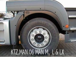Spatz MAN TGA / TGS (M, L & LX Cabs) Straight Wing - Kitz