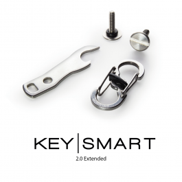 KeySmart 2.0 3 Pack Accessories. Accessory Multipack. Bottle Opener, Quick Disconnect & Expansion Pack