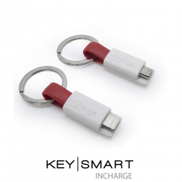 InCharge Compact Phone Charger. KeySmart Accessory. Android or iPhone.