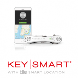 KeySmart Pro with Tile Smart Location.