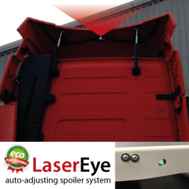 LaserEye, Automatic Truck Spoiler, Roof Deflector Adjustment System