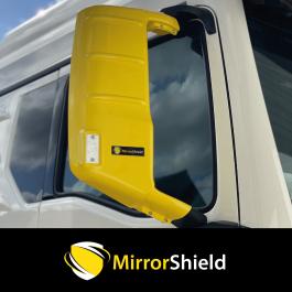 MAN TG3 TGS, TGM, TGL Narrow Cabs 2020 on MirrorShield - Super Strong Mirror Guard / Protector (Pair)