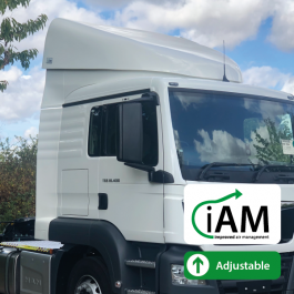 iAM MAN TGS L Cab High Volume Air Management Kit. Full kit.