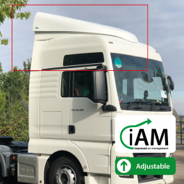 iAM MAN TGX XXL Cab High Volume Air Management Kit. To Suit Factory uprights.