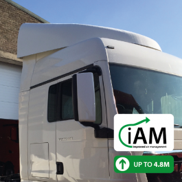 iAM MAN TGX XLX High Volume Air Management Kit. Full kit.