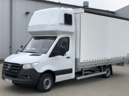 Mercedes Sprinter IV (2018 onwards) Sleeper Pod