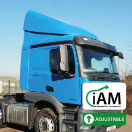iAM Mercedes Actros ClassicSpace (320mm Engine Tunnel) High Volume Air Management Kit. Full kit.