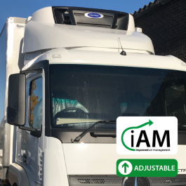 iAM Mercedes Actros ClassicSpace M Cab, 320mm Tunnel Fridge Top Spoiler