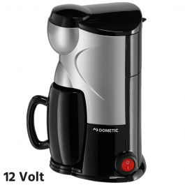 Dometic 12 Volt Coffee Maker For One 150ml 170 Watt Plug And Play - Includes Mug