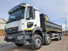 Lower Level Passenger Window to suit Mercedes Arocs 4 / 5 - Fully Fitted, Blind Spot Window.