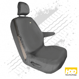 Heavy Duty Renault Trafic Driver Seat Cover (2014 +) - 3 Piece Set
