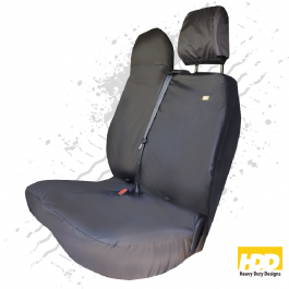 Heavy Duty Renault Trafic Passenger Seat Cover (2014 +) - 5 Piece Set