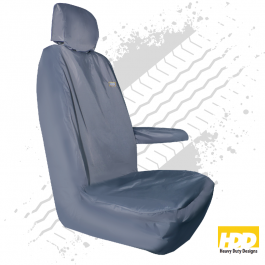 Heavy Duty Renault Master Driver Seat Cover (2016 +) - 3 Piece Set