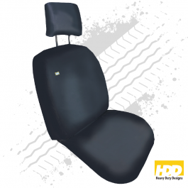 Heavy Duty Renault Kangoo Single Passenger Seat Cover (2016 +) - 2 Piece Set