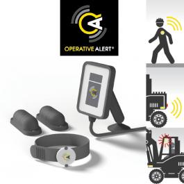 Operative Alert Detection System. Hard Hat / PPE / Plant Sensor System