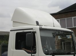 MAN TGS M Cab Top Spoiler Only