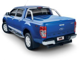Aluminium Side Steps for Ford Ranger 2011 -