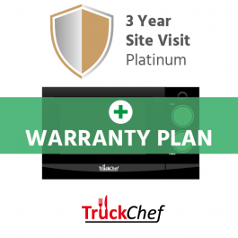 TruckChef Platinum Warranty Plan - 3 year Site Visit