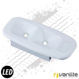Mercedes Sprinter & Vito 6 Watt LED Interior Light Direct Plug & Play Replacement.