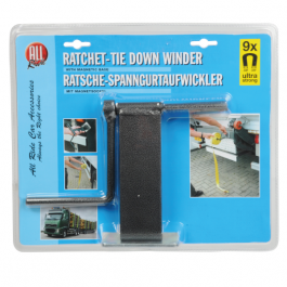 Ratchet Strap Tie Down Winder, Strap Organiser, Magnetic Winder