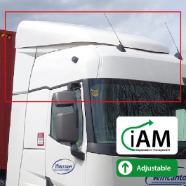 iAM Renault T-High, Flat Floor Sleeper, High Volume Air Management Kit. To Suit Factory uprights.