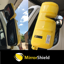 Renault D Range (Euro 6 Onwards) MirrorShield - Super Strong Mirror Guard / Protector (Pair)
