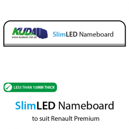 SlimLED Nameboard to suit Renault Premium