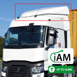 iAM Renault T Range High Volume Air Management Kit. To Suit Factory uprights.