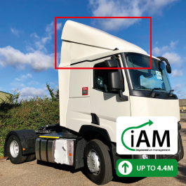 iAM Renault T Range Night / Day Cab High Volume AMK. To Suit Factory uprights.