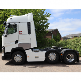Renault T-High and T Range 6x2 Sideskirts 3.9m, Mid-Lift Wheelbase