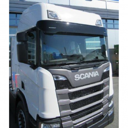Extra Deep Sunvisor Suitable For Scania Next Gen 2017 S/R/G - Includes Brackets