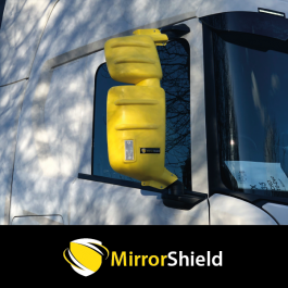 Scania Next Gen S, R, G, P, XT and L MirrorShield - Super Strong Mirror Guard / Protector (Pair)