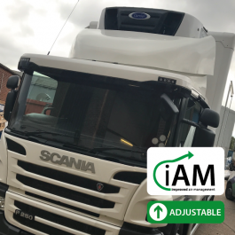 iAM Scania P Series Day Cab Fridge Top Spoiler
