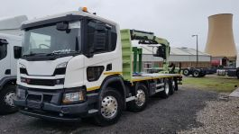 Lower Level Passenger Window to suit Scania P New Gen - Fully Fitted, Blind Spot Window.
