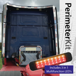Perimeter Kit to suit Scania R Series Topline complete with 3 in 1 Multifunction LED's