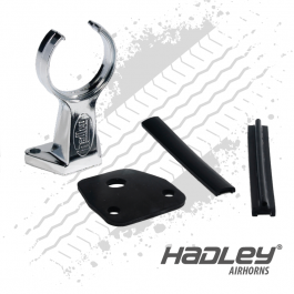 "Hadley Air Horn Short Support Arm. Suitable for 19"" & 22"" Air Horn. H13723S Bracket."