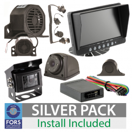 FORS Approved Silver Camera and Sensor Kit - For Artic or Rigid Unit, Install Included.