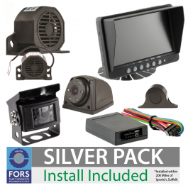 FORS Approved Silver Camera and Sensor Kit - For Rigid Unit, Install Included.