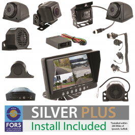 FORS Approved Silver Plus Camera and Sensor Kit - Rigid or Artic, Install Included.
