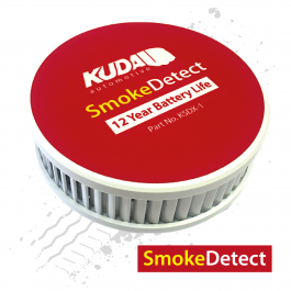 SmokeDetect Automotive Smoke and Heat Detector, 12 Year Battery Life.
