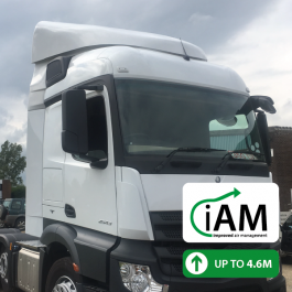 iAM Mercedes Actros StreamSpace Narrow (2.3m) High Volume Air Management Kit. Full kit.