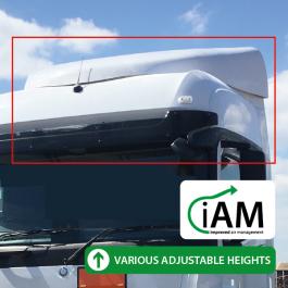 iAM Mercedes Actros StreamSpace Wide (2.5m) High Volume AMK. To Suit Factory Uprights