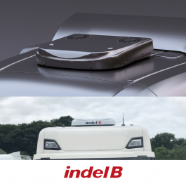 Indel B SW Oblo 1600 - The newest generation of roof mounted truck cab coolers. (Fits most trucks)