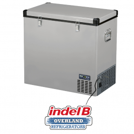 Indel B Heavy Duty Steel 124 Litre Portable Refrigerator Dual Voltage TB130STEEL